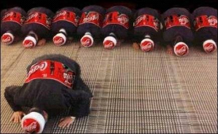 Benarkah Gambar Ini di Lakukan Oleh Coke?