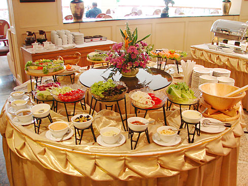 hidangan hotel